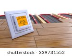 the temperature control for... | Shutterstock . vector #339731552