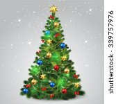 christmas tree | Shutterstock .eps vector #339757976