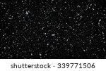 heavy snowfall on black... | Shutterstock . vector #339771506