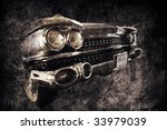 front of an old american car in ... | Shutterstock . vector #33979039