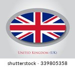 british flag icon.uk flag... | Shutterstock .eps vector #339805358