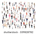 team over white corporate... | Shutterstock . vector #339828782