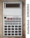 Old Electronic Calculator On...