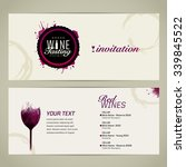 template for event or party.... | Shutterstock .eps vector #339845522