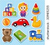 toys | Shutterstock .eps vector #33985255