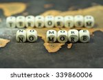 wooden blocks with the text ... | Shutterstock . vector #339860006
