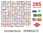 flags vector of the world | Shutterstock .eps vector #339881672