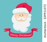 Face Of Santa Claus.merry...