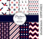Collection Of Seamless Pattern...