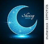 Shining Moon. Elegant Night...