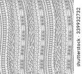 doodle background in vector... | Shutterstock .eps vector #339932732