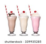 Milkshakes Chocolate Flavor Ic...