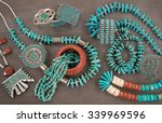 a collection of native american ... | Shutterstock . vector #339969596