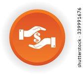 sign dollar vector icon