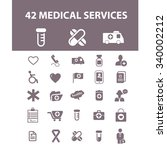 medicine research  medical... | Shutterstock .eps vector #340002212