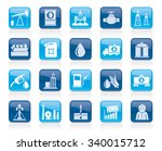 oil industry  gas production ... | Shutterstock .eps vector #340015712