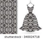 fashion illustration  women's...   Shutterstock .eps vector #340024718