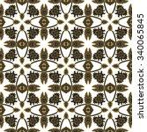 seamless ethnic pattern   Shutterstock .eps vector #340065845