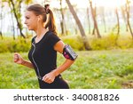 Young Attractive Female Runner...