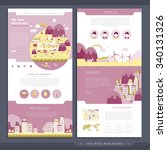 lovely one page web design in...
