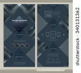 graceful one page web design...
