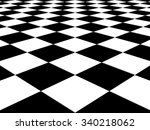 Checkered Background Floor...