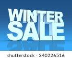 winter sale | Shutterstock . vector #340226516