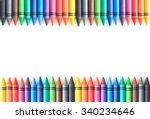 Crayon drawing border...