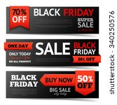 black friday super sale... | Shutterstock .eps vector #340250576