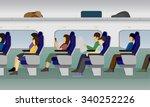 passenger train vector   Shutterstock .eps vector #340252226