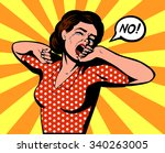 woman crying vector   Shutterstock .eps vector #340263005