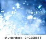 bright blue background | Shutterstock .eps vector #340268855