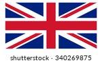 united kingdom flag | Shutterstock .eps vector #340269875