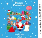 vector banner christmas shop...