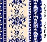 striped seamless pattern ... | Shutterstock . vector #340300502