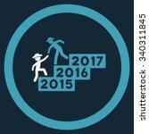 boy annual help vector icon.... | Shutterstock .eps vector #340311845
