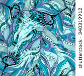 seamless pattern background... | Shutterstock . vector #340319912