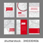 vector technical blueprint of ... | Shutterstock .eps vector #340330406