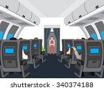Interior Of The Plane....