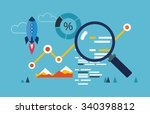 web data analysis   Shutterstock .eps vector #340398812