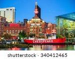 baltimore   oct 21  view of... | Shutterstock . vector #340412465