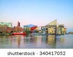view of inner harbor area in... | Shutterstock . vector #340417052