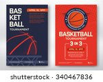 basketball tournament  modern... | Shutterstock .eps vector #340467836
