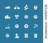 a set of vector icons for... | Shutterstock .eps vector #340507136