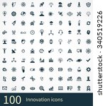 innovation icons vector set | Shutterstock .eps vector #340519226