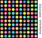 city 100 icons universal set... | Shutterstock .eps vector #340519232