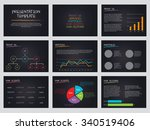 presentation template design...   Shutterstock .eps vector #340519406