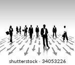 business people   Shutterstock .eps vector #34053226
