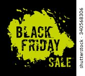 vector black friday sale...   Shutterstock .eps vector #340568306