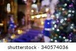 bokeh background of christmas... | Shutterstock . vector #340574036